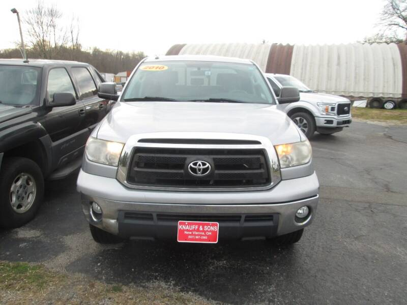2010 Toyota Tundra for sale at Knauff & Sons Motor Sales in New Vienna OH