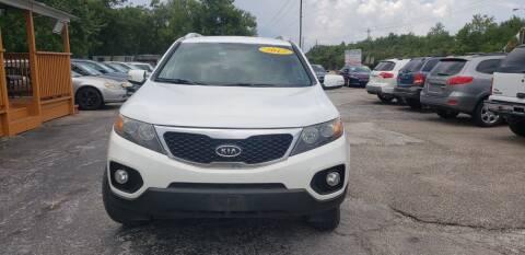 2012 Kia Sorento for sale at Anthony's Auto Sales of Texas, LLC in La Porte TX