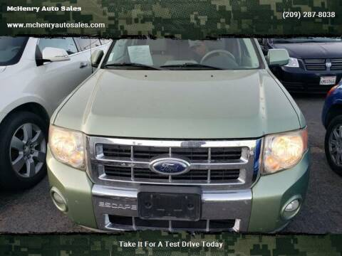 2009 Ford Escape Hybrid for sale at McHenry Auto Sales in Modesto CA