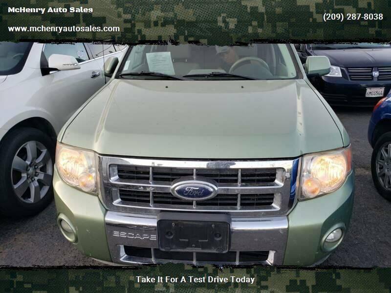 2009 Ford Escape Hybrid for sale at McHenry Auto Sales in Modesto CA