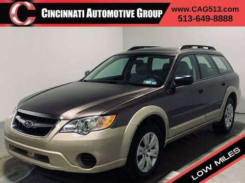 2008 Subaru Outback for sale at Cincinnati Automotive Group in Lebanon OH