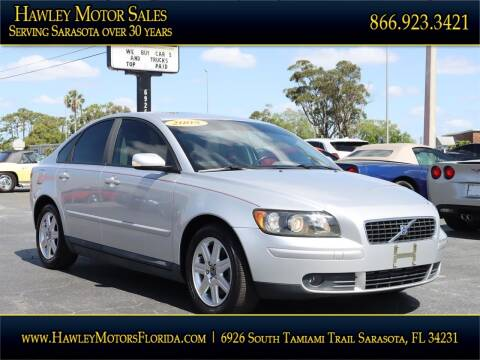 2005 Volvo S40 for sale at Hawley Motor Sales in Sarasota FL