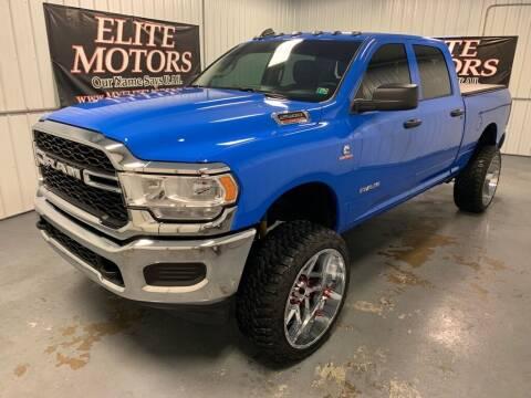 2020 RAM Ram Pickup 2500 for sale at Elite Motors in Uniontown PA