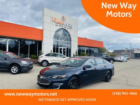 2017 Chevrolet Malibu for sale at New Way Motors in Ferndale MI