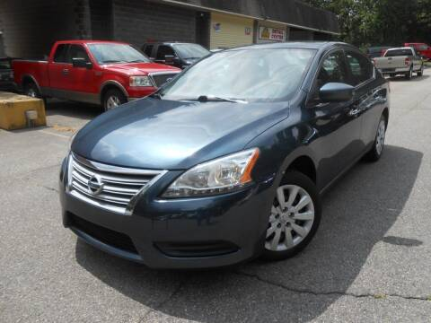 2014 Nissan Sentra for sale at Skyline Motors in Ringwood NJ