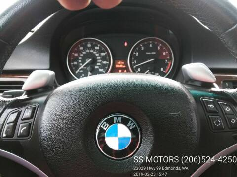 2007 BMW 3 Series for sale at SS MOTORS LLC in Edmonds WA
