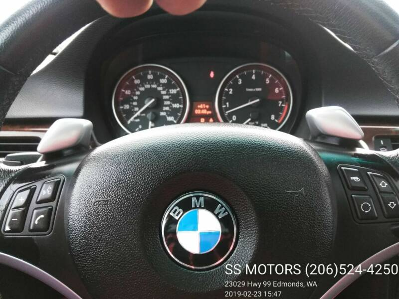 2007 BMW 3 Series for sale at SS MOTORS LLC in Edmonds WA