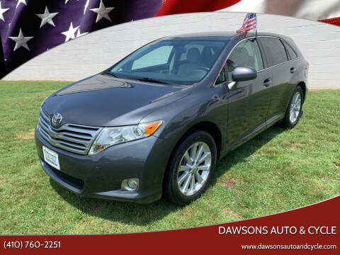 2010 Toyota Venza for sale at Dawsons Auto & Cycle in Glen Burnie MD