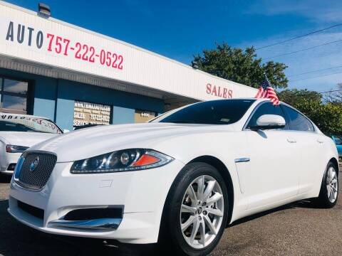 2013 Jaguar XF for sale at Trimax Auto Group in Norfolk VA