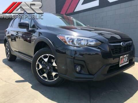 2019 Subaru Crosstrek for sale at Auto Republic Fullerton in Fullerton CA