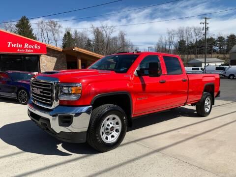 2019 GMC Sierra 2500HD for sale at Twin Rocks Auto Sales LLC in Uniontown PA