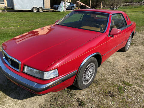 1990 Chrysler TC for sale at Richard C Peck Auto Sales in Wellsville NY