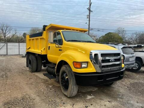 2004 Ford F-750 for sale at Progressive Auto Plex in San Antonio TX