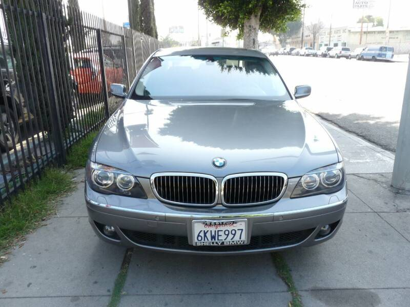 2006 BMW 7 Series for sale at Oceansky Auto in Los Angeles CA