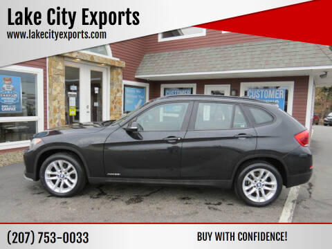 2015 BMW X1 for sale at Lake City Exports - Lewiston in Lewiston ME