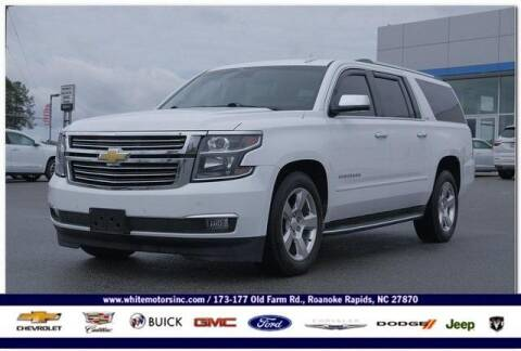 2015 Chevrolet Suburban for sale at WHITE MOTORS INC in Roanoke Rapids NC