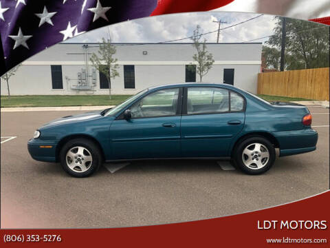 2002 Chevrolet Malibu for sale at LDT MOTORS in Amarillo TX