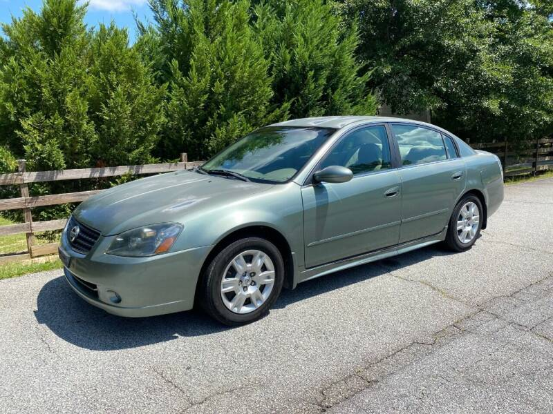 2006 Nissan Altima for sale at Front Porch Motors Inc. in Conyers GA