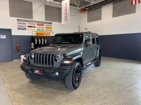 2020 Jeep Wrangler Unlimited for sale at Meyer Motors in Plymouth WI