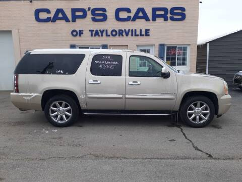 2008 GMC Yukon XL for sale at Caps Cars Of Taylorville in Taylorville IL