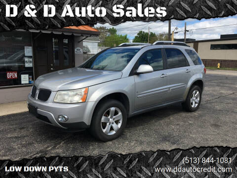 2008 Pontiac Torrent for sale at D & D Auto Sales in Hamilton OH