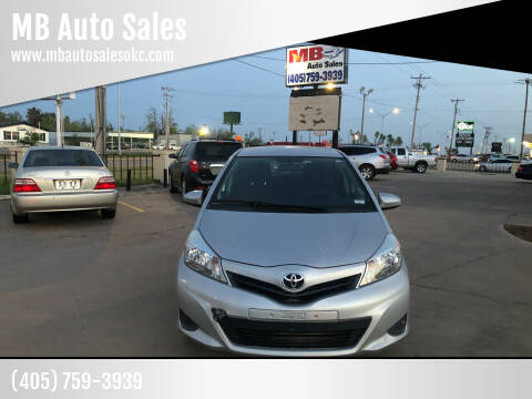 2014 Toyota Yaris for sale at MB Auto Sales in Oklahoma City OK