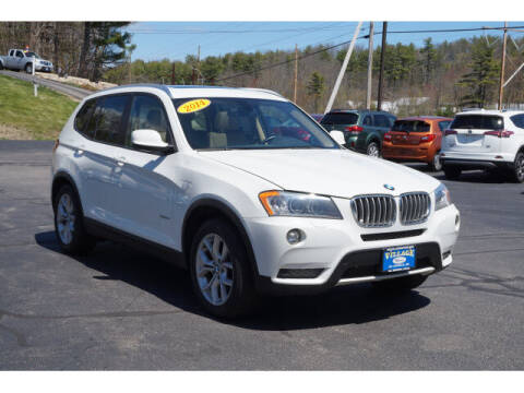 2014 BMW X3 for sale at VILLAGE MOTORS in South Berwick ME