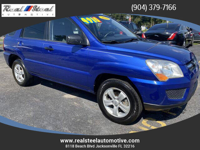 2010 Kia Sportage for sale at Real Steel Automotive in Jacksonville FL