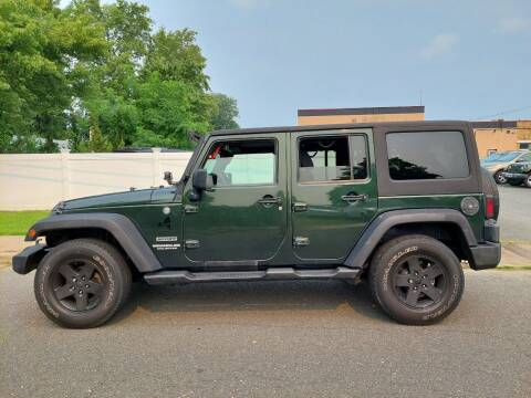 2011 Jeep Wrangler Unlimited for sale at New Jersey Auto Wholesale Outlet in Union Beach NJ