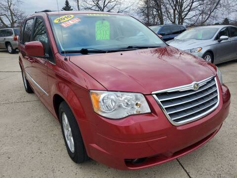 2010 Chrysler Town and Country for sale at Kachar's Used Cars Inc in Monroe MI