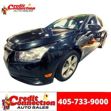 2011 Chevrolet Cruze for sale at Credit Connection Auto Sales in Midwest City OK