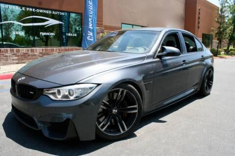 2015 BMW M3 for sale at CK Motors in Murrieta CA