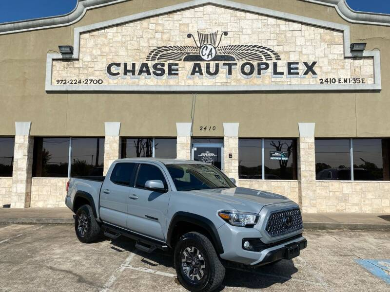 2019 Toyota Tacoma for sale at CHASE AUTOPLEX in Lancaster TX