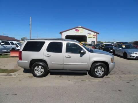 2007 Chevrolet Tahoe for sale at Jefferson St Motors in Waterloo IA