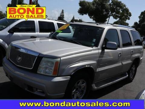 2005 Cadillac Escalade for sale at Bond Auto Sales in St Petersburg FL