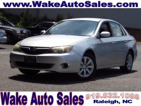 2011 Subaru Impreza for sale at Wake Auto Sales Inc in Raleigh NC