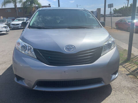 2011 Toyota Sienna for sale at GRAND AUTO SALES - CALL or TEXT us at 619-503-3657 in Spring Valley CA