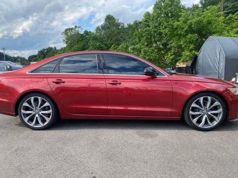2015 Audi A6 for sale at Trocci's Auto Sales in West Pittsburg PA