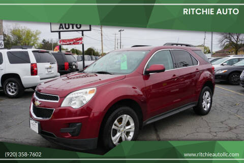 2011 Chevrolet Equinox for sale at Ritchie Auto in Appleton WI