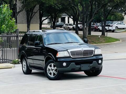2005 Lincoln Aviator for sale at Texas Drive Auto in Dallas TX