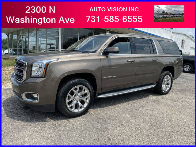 2016 GMC Yukon XL for sale at Auto Vision Inc. in Brownsville TN