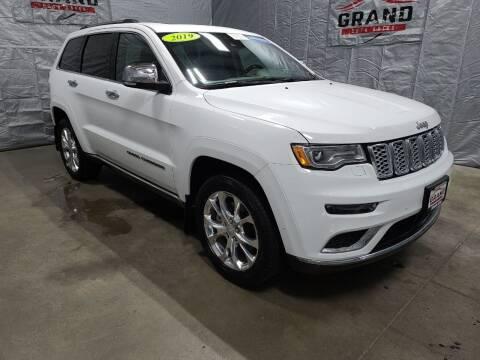 2019 Jeep Grand Cherokee for sale at GRAND AUTO SALES in Grand Island NE