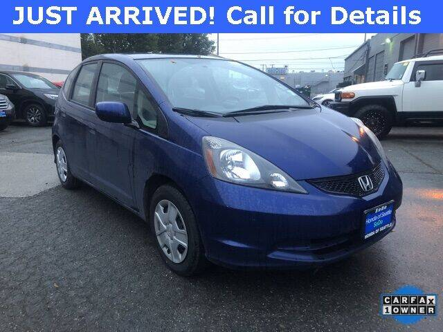 2012 Honda Fit for sale at Honda of Seattle in Seattle WA