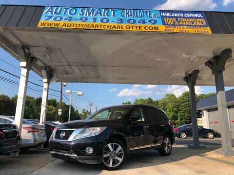 2013 Nissan Pathfinder for sale at Auto Smart Charlotte in Charlotte NC
