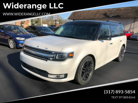 2013 Ford Flex for sale at Widerange LLC in Greenwood IN