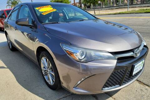 2016 Toyota Camry for sale at ZOOM CARS LLC in Sylmar CA