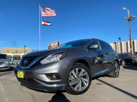2017 Nissan Murano for sale at New Wave Auto Brokers & Sales in Denver CO