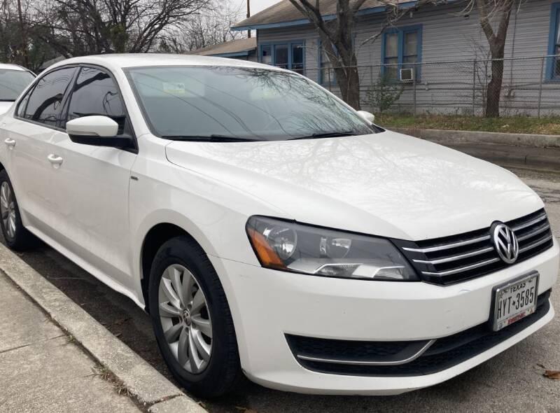 2015 Volkswagen Passat for sale at Carzready in San Antonio TX