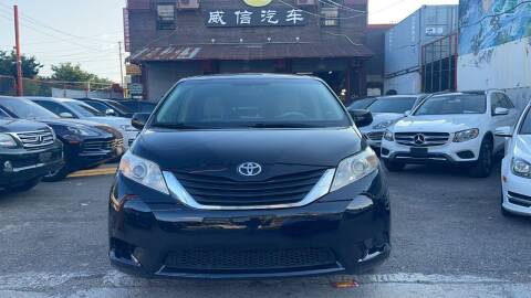 2013 Toyota Sienna for sale at TJ AUTO in Brooklyn NY