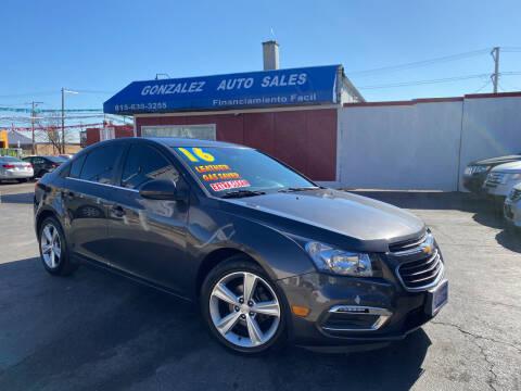 2016 Chevrolet Cruze Limited for sale at Gonzalez Auto Sales in Joliet IL